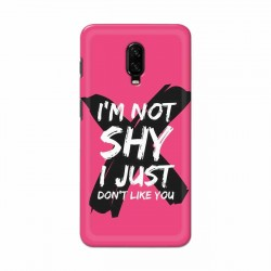 Buy One Plus 7 I am Not Shy Mobile Phone Covers Online at Craftingcrow.com