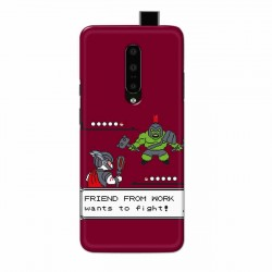 Buy One Plus 7 Pro Friend From Work Mobile Phone Covers Online at Craftingcrow.com