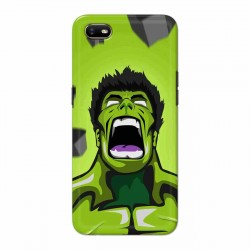 Buy Oppo A1k Rage Hulk Mobile Phone Covers Online at Craftingcrow.com