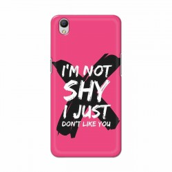 Buy Oppo A37 I am Not Shy Mobile Phone Covers Online at Craftingcrow.com