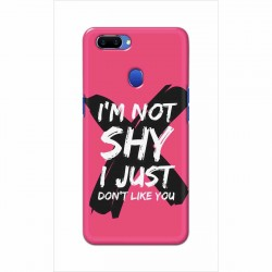 Buy Oppo A5 I am Not Shy Mobile Phone Covers Online at Craftingcrow.com