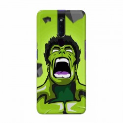 Buy Oppo F11 Pro Rage Hulk Mobile Phone Covers Online at Craftingcrow.com