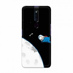 Buy Oppo F11 Pro Space Doggy Mobile Phone Covers Online at Craftingcrow.com