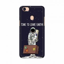 Buy Oppo F5 Time to Leave Earth Mobile Phone Covers Online at Craftingcrow.com