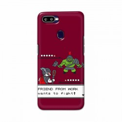 Buy Oppo F9 Friend From Work Mobile Phone Covers Online at Craftingcrow.com
