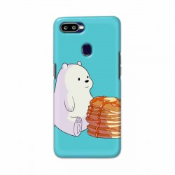 Buy Oppo F9 Pro Bear and Pan Cakes Mobile Phone Covers Online at Craftingcrow.com