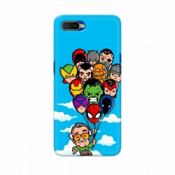 Buy Oppo K1 Excelsior Mobile Phone Covers Online at Craftingcrow.com
