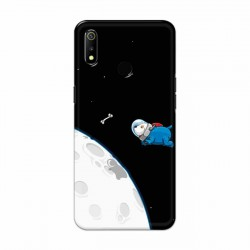 Buy Oppo Realme 3 Space Doggy Mobile Phone Covers Online at Craftingcrow.com