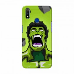 Buy Oppo Realme 3 Pro Rage Hulk Mobile Phone Covers Online at Craftingcrow.com