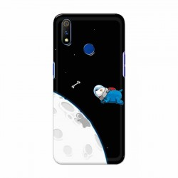Buy Oppo Realme 3 Pro Space Doggy Mobile Phone Covers Online at Craftingcrow.com