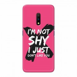 Buy Oppo Realme X I am Not Shy Mobile Phone Covers Online at Craftingcrow.com
