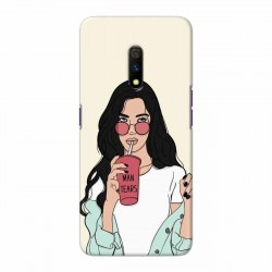Buy Oppo Realme X Man Tears Mobile Phone Covers Online at Craftingcrow.com