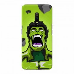 Buy Oppo Realme X Rage Hulk Mobile Phone Covers Online at Craftingcrow.com