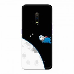 Buy Oppo Realme X Space Doggy Mobile Phone Covers Online at Craftingcrow.com