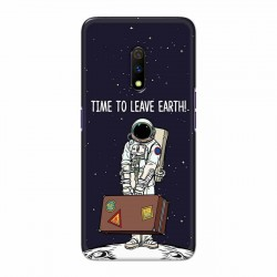 Buy Oppo Realme X Time to Leave Earth Mobile Phone Covers Online at Craftingcrow.com