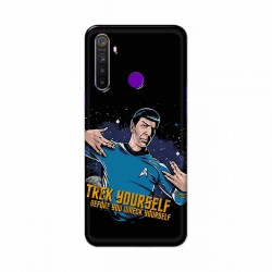 Buy Realme 5 Trek Yourslef Mobile Phone Covers Online at Craftingcrow.com