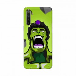 Buy Realme 5 Pro Rage Hulk Mobile Phone Covers Online at Craftingcrow.com