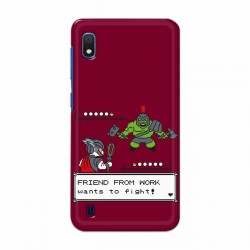 Buy Samsung Galaxy A10 Friend From Work Mobile Phone Covers Online at Craftingcrow.com