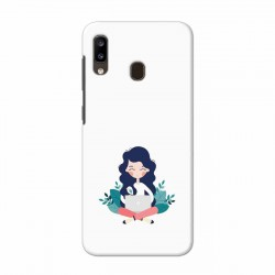 Buy Samsung Galaxy A20 Busy Lady Mobile Phone Covers Online at Craftingcrow.com