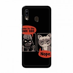 Buy Samsung Galaxy A20 Not Coming to Dark Side Mobile Phone Covers Online at Craftingcrow.com