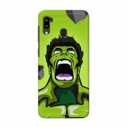 Buy Samsung Galaxy A20 Rage Hulk Mobile Phone Covers Online at Craftingcrow.com