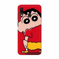 Buy Samsung Galaxy A20 Shin Chan Mobile Phone Covers Online at Craftingcrow.com