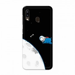 Buy Samsung Galaxy A20 Space Doggy Mobile Phone Covers Online at Craftingcrow.com