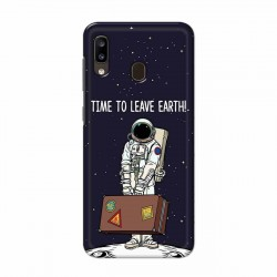 Buy Samsung Galaxy A20 Time to Leave Earth Mobile Phone Covers Online at Craftingcrow.com