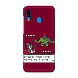 Buy Samsung Galaxy A30 Friend From Work Mobile Phone Covers Online at Craftingcrow.com