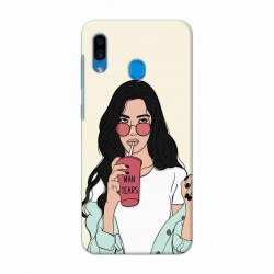 Buy Samsung Galaxy A30 Man Tears Mobile Phone Covers Online at Craftingcrow.com