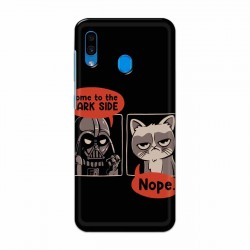 Buy Samsung Galaxy A30 Not Coming to Dark Side Mobile Phone Covers Online at Craftingcrow.com