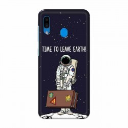 Buy Samsung Galaxy A30 Time to Leave Earth Mobile Phone Covers Online at Craftingcrow.com