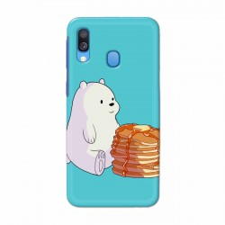 Buy Samsung Galaxy A40 Bear and Pan Cakes Mobile Phone Covers Online at Craftingcrow.com