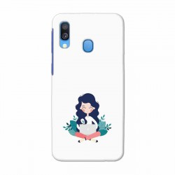 Buy Samsung Galaxy A40 Busy Lady Mobile Phone Covers Online at Craftingcrow.com
