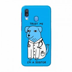 Buy Samsung Galaxy A40 I am Dogtor Mobile Phone Covers Online at Craftingcrow.com