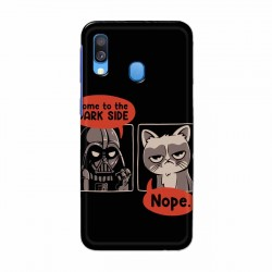 Buy Samsung Galaxy A40 Not Coming to Dark Side Mobile Phone Covers Online at Craftingcrow.com