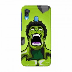 Buy Samsung Galaxy A40 Rage Hulk Mobile Phone Covers Online at Craftingcrow.com