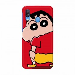 Buy Samsung Galaxy A40 Shin Chan Mobile Phone Covers Online at Craftingcrow.com