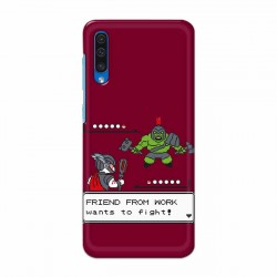 Buy Samsung Galaxy A50 Friend From Work Mobile Phone Covers Online at Craftingcrow.com
