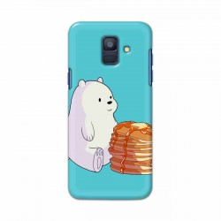 Buy Samsung Galaxy A6 2018 Bear and Pan Cakes Mobile Phone Covers Online at Craftingcrow.com