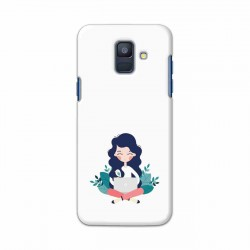 Buy Samsung Galaxy A6 2018 Busy Lady Mobile Phone Covers Online at Craftingcrow.com