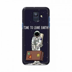 Buy Samsung Galaxy A6 2018 Time to Leave Earth Mobile Phone Covers Online at Craftingcrow.com