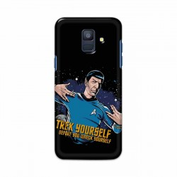 Buy Samsung Galaxy A6 2018 Trek Yourslef Mobile Phone Covers Online at Craftingcrow.com