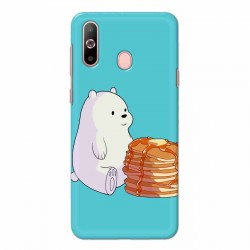Buy Samsung Galaxy A60 Bear and Pan Cakes Mobile Phone Covers Online at Craftingcrow.com