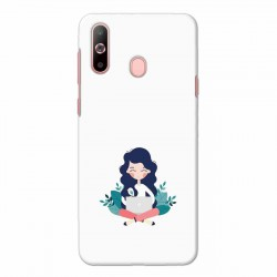 Buy Samsung Galaxy A60 Busy Lady Mobile Phone Covers Online at Craftingcrow.com