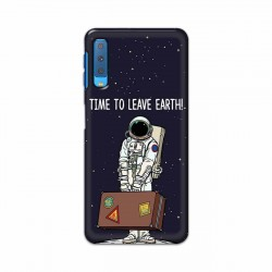 Buy Samsung Galaxy A7 2018 Time to Leave Earth Mobile Phone Covers Online at Craftingcrow.com