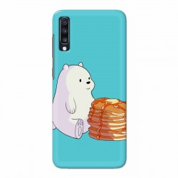 Buy Samsung Galaxy A70 Bear and Pan Cakes Mobile Phone Covers Online at Craftingcrow.com