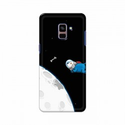 Buy Samsung Galaxy A8 Plus 2018 Space Doggy Mobile Phone Covers Online at Craftingcrow.com