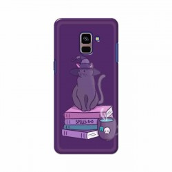 Buy Samsung Galaxy A8 Plus 2018 Spells Cats Mobile Phone Covers Online at Craftingcrow.com