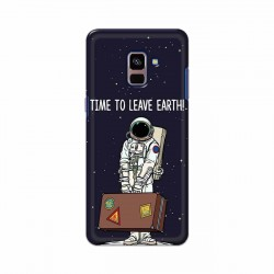 Buy Samsung Galaxy A8 Plus 2018 Time to Leave Earth Mobile Phone Covers Online at Craftingcrow.com